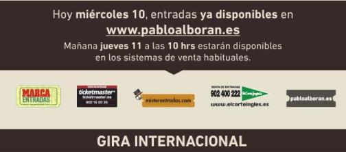 2014 - PROMO - PABLO ALBORAN - TERRAL TOUR - TEXTO 3