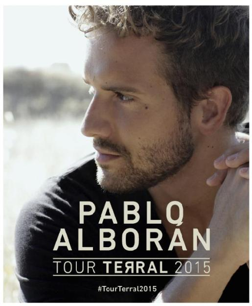 2014 - PROMO - PABLO ALBORAN - TERRAL TOUR
