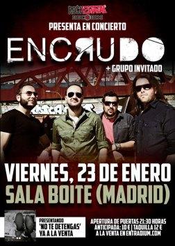 150123 - ENCRUDO - Madrid