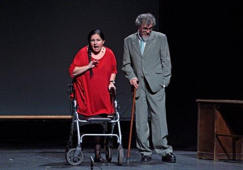 'Yo me bajo en la próxima, ¿y usted?' Producción: Varela Producciones, la Compañía de Teatro de Blanca Marsillach Foto: Daniel Alonso / CDT