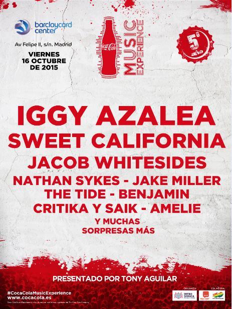 151019 - COCA COLA MUSIC EXPERIENCIE 2015