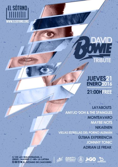 160121 - WORDPRESS - TRIBUTO A BOWIE - EL SOTANO - MADRID