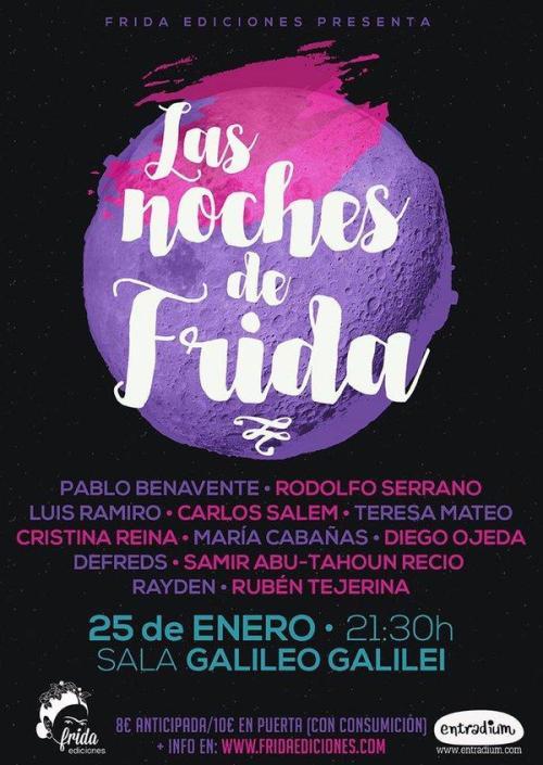 160125 - LAS NOCHES DE FRIDA - 21_30 GALILEO