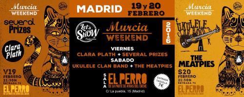 160219 - MURCIA WEKEND - MADRID